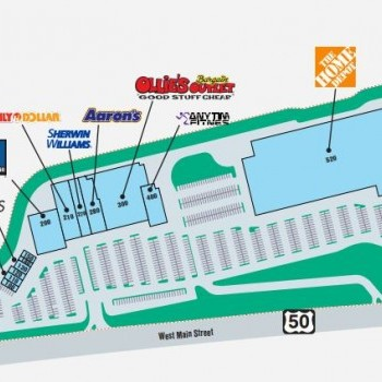 Plan of mall Bridgeport Plaza