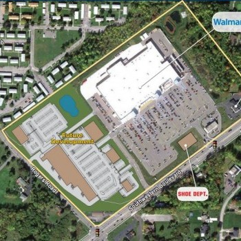 Plan of mall Brierwood Square