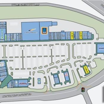 Plan of mall Broadlands Village Center
