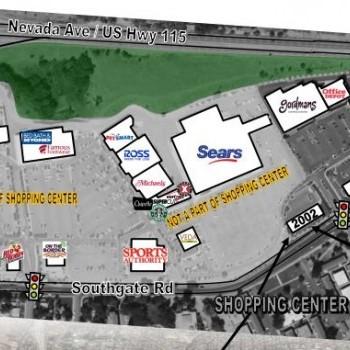 Plan of mall Broadmoor Towne Center