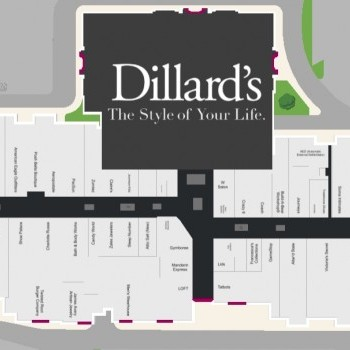 Plan of mall Broadway Square Mall