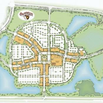 Plan of mall Brownwood Paddock Square
