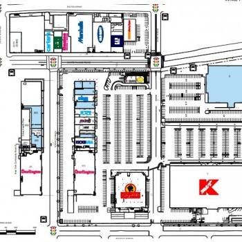 Plan of mall Bruckner Commons