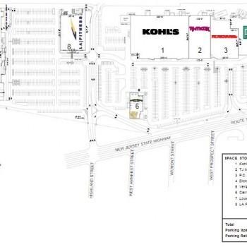 Plan of mall Brunswick Commons