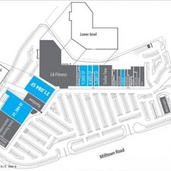 Plan of mall Brunswick Shopping Center