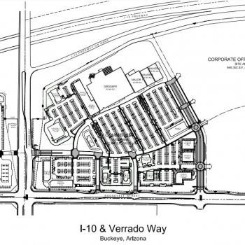 Plan of mall Buckeye Parkway Center