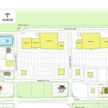 Plan of mall Buffalo Ridge at The Villages