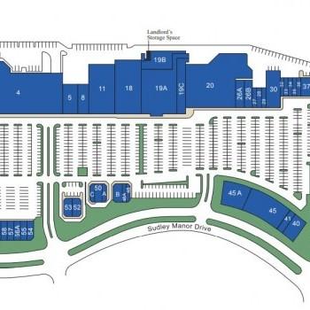 Plan of mall Bull Run Plaza