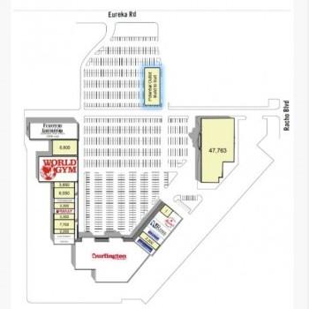 Plan of mall Burlington Square
