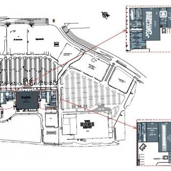 Plan of mall Burnt Store Promenade