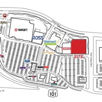 Plan of mall Camarillo Town Center