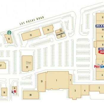 Plan of mall Camarillo Village Square