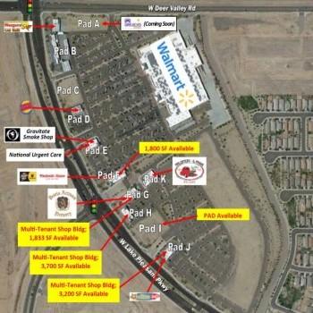 Plan of mall Camino a Lago Marketplace