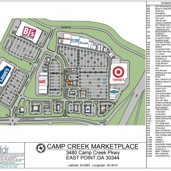 Bj's wholesale club in Camp Creek Marketplace - store location