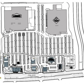 Plan of mall Cannery Corner