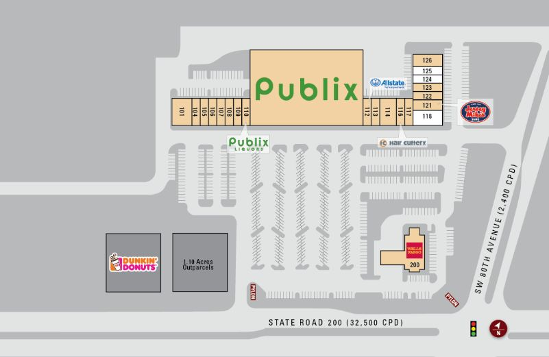 store directory and map of canopy oak center