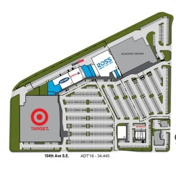 Plan of mall Canyon Ridge Plaza
