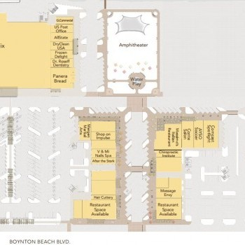 Plan of mall Canyon Town Center