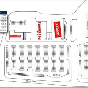 Plan of mall Capital Plaza