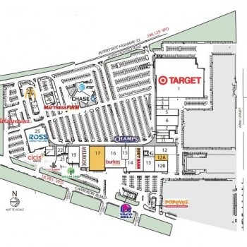 Plan of mall Capital Plaza