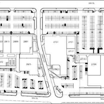Plan of mall Caprock Shopping Center