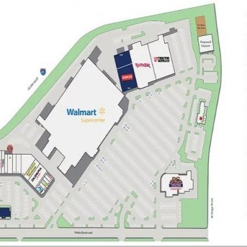 Plan of mall Carlisle Commons Shopping Center