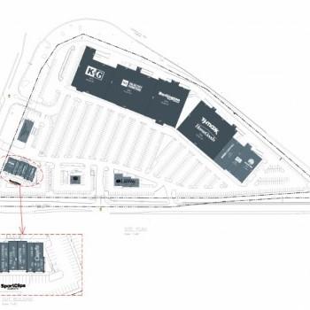 Plan of mall Castleton Crossing