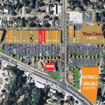 Plan of mall Cedar Hills