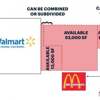 Plan of mall Cedar Knolls Plaza