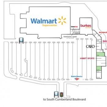 Plan of mall Cedars Square