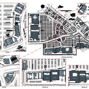 Plan of mall Centennial Center