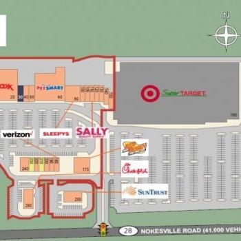Plan of mall Center at Innovation
