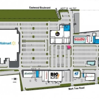 Plan of mall Centereach Square