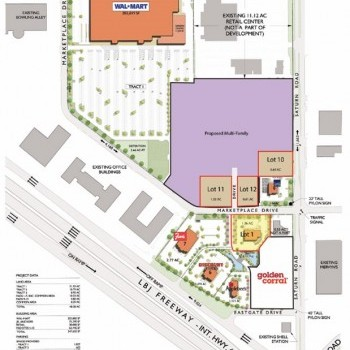 Plan of mall Centerville Marketplace West