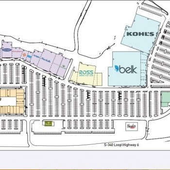 Plan of mall Central Texas MarketPlace