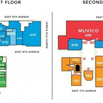 Plan of mall Centro Ybor