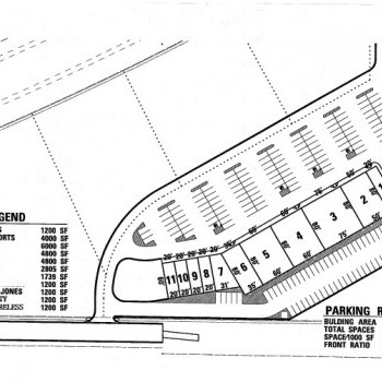 Plan of mall Charleston Commons - Charleston