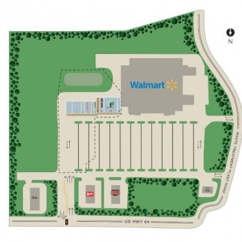 Plan of mall Chatham Crossing