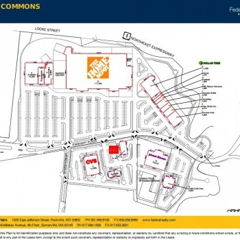 Plan of mall Chelsea Commons