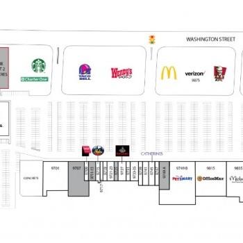 Plan of mall Cherry Tree Plaza