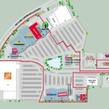 Plan of mall Chesterfield Marketplace