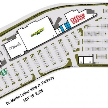 Plan of mall Chico Crossroads