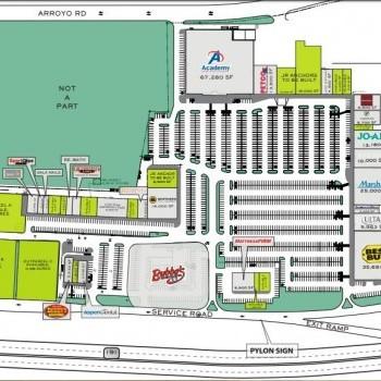Plan of mall Chimney Rock