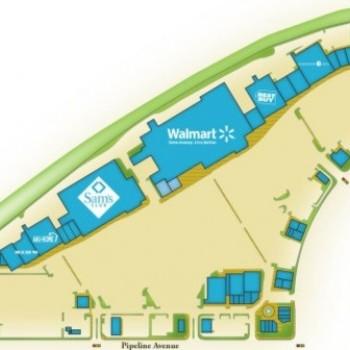 Plan of mall Chino Spectrum Towne Center