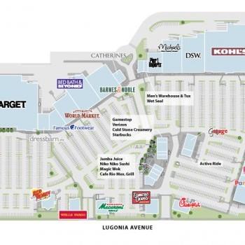 Plan of mall Citrus Plaza
