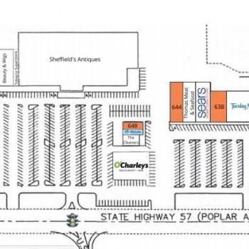 Plan of mall City Center