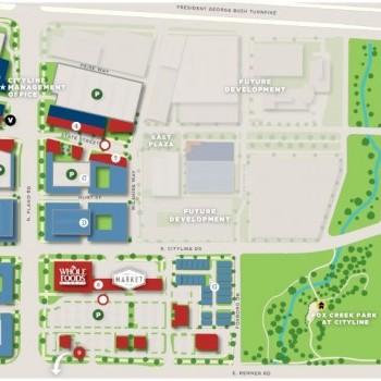 Plan of mall CityLine