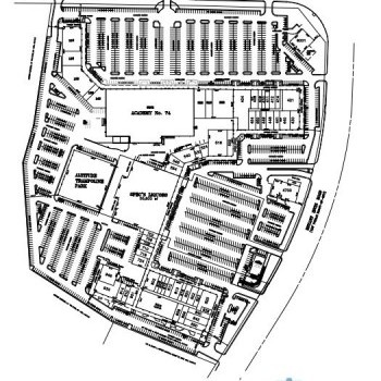 Plan of mall Cityview Centre