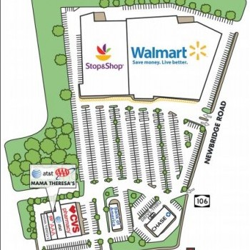 Plan of mall Clearmeadow Plaza