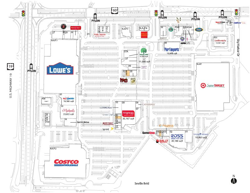 Map Of Florida Clearwater.Clearwater Mall Store List Hours Location Clearwater Florida